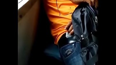 Indian dick flash gets caught by college girl on her mobile in train
